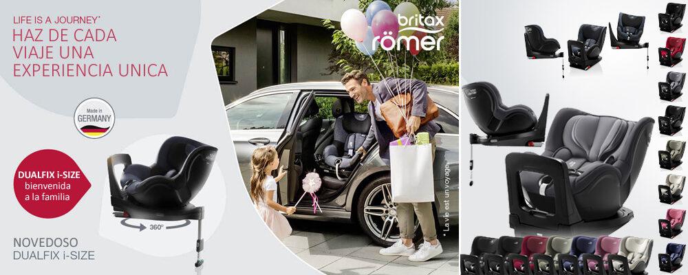 sillita de coche romer dualfix i-size